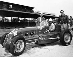 1950 - Bayliss Levrett (Relieved by Bill Cantrell) (#24) Adams-Offenhauser – Qualified: 17th , Speed (131.181 mph) Finished: 27th, Oil Pressure, Lap 108