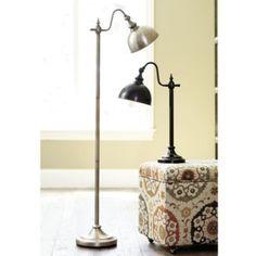 Bradley Task Floor Lamp - reading lamp next to chair Traditional Floor Lamps, Bronze Floor Lamp, Adjustable Floor Lamp, Task Lamps, Room Lamp, Modern Floor Lamps, Ballard Designs, Lamp Shades, My Living Room