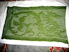 Ravelry: Dragon Stole pattern by MMario. Free Pattern