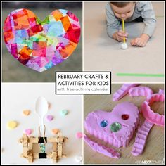 542 Best February Activities For Kids Images In 2019 Valentine S
