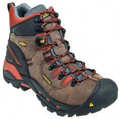 686d911a Keen Footwear Men's Brown 1009709 Waterproof EH Pittsburgh Hiking Work  Boots #Hikingpants