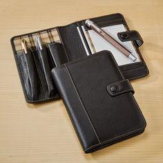 Bomber Jacket Triple Pen Case