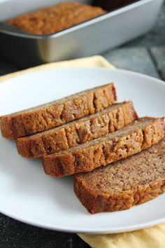 Low-FODMAP Banana Bread May replace butter with oil, and use a combination of maple syrup and sugar instead of the dextrose.