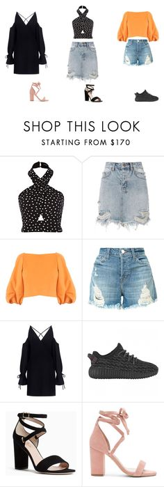 """random outfit"" by ghappyg on Polyvore featuring Ksubi, TIBI, J Brand, IRO, Kate Spade and Raye"