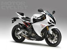-Yamaha tripple midsize racer. Project