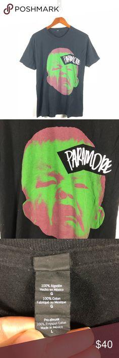 18fec74a98 Paramore Band Tour Merch Rock Tee Paramore Band Tour Merch Rock Tee Size  Large Paramore Shirts