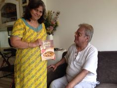 """""""Thank u so much for #SindhiCuisine I am waiting to try 'Besan anni( (steamed gram flour dumpling in spicy sauce) this is one of my favorite for sure"""" says Kamloo Mansinghani...Yes! BESAN JI AANI is another favorite with Sindhi...many have confirmed with me before buying my book on #SindhiCuisine :))"""