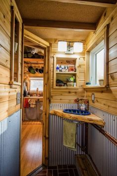 lots of love interesting features in this tiny house