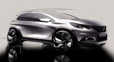 Peugeot 2008 on Behance