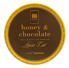 Honey & Chocolate 100g  I just got a tin in the mail today, a gift from my cousin Shelly. I am about to smoke my first bowl.
