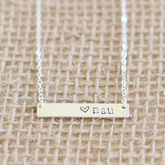 nau silver necklace for all you northern az people out there! #nau #flagstaff