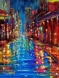 Jazz Drag Painting