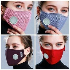 Anti Pollution Mask Dust Respirator Washable Reusable Masks Cotton Uni Mouth Muffle For Allergy/Travel/ Cycling. We do not accept P. Mouth Mask Fashion, Fashion Mask, Diy Mask, Diy Face Mask, Face Masks, Mouth Mask Design, Purifying Mask, Protective Mask, Mask Making