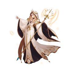 yiHan 千 Fantasy Character Design, Character Concept, Character Inspiration, Character Art, Concept Art, High Fantasy, Fantasy Women, Fantasy Rpg, Fantasy Girl