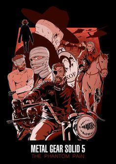Metal Gear Solid V: The Phantom Pain - Nido
