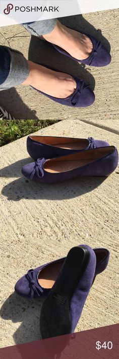 ✅ Sale Clarks flats Never Worn - Like New Clarks indigo suede the comfort shoe Clarks Shoes Flats & Loafers