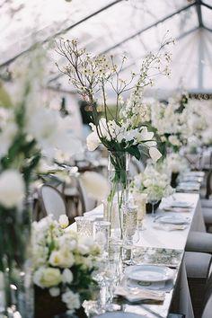 Nashville Wedding White Flowers