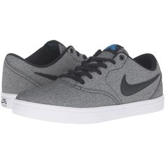 Nike SB Check Solar Canvas (Black Photo Blue White) Men s Skate Shoes 78a4ce6107