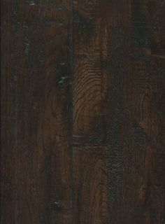"""Stover Hardwood :: Canyon Creek - Solid Handscraped Oak - Coffee - Prefinished Solid Hardwood - 3/4""""x8"""" - Only $5.29 per square foot by the box!"""