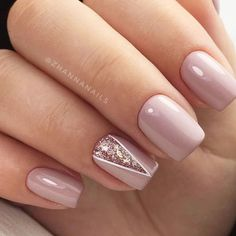 50 Elegant Nail Art Designs For Women 2019 - Page 38 of 50 Elegant Nails elegant nails north pole ak Trendy Nails, Stylish Nails, Cute Nails, Casual Nails, Classy Nails, Elegant Nail Art, Beautiful Nail Art, Simple Elegant Nails, Pink Nails