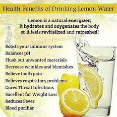 Drink #lemon water