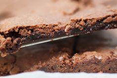 Seg kladdkaka med smak av marianne   Bakverk och Fikastunder