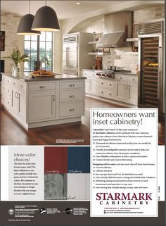 StarMark Cabinetry Sale 30% off inset  Buy at www.ClickCabinets.com Buy Kitchen, Kitchen And Bath, Bath Cabinets, Kitchen Cabinets, Quality Kitchens, Space, Storage, Stuff To Buy