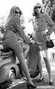 Vespa and twins? Yes please!;-)