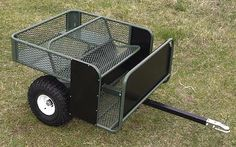 New PakRat ATV Carts Offer Comfort, Safety, High Capacity: ATV & UTV : The Pak-Rat cart uses a cool expanded mesh bench seat to carry one or two hunters, with optional Quad Trailer, Trailer Build, Utility Trailer, Welding Trailer, Work Trailer, Kayak Trailer, Metal Projects, Welding Projects, Welding Art