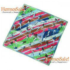 Hermes Pilotari 140cm Green Cashmere Shawl