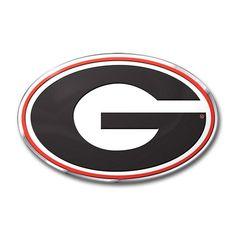 Georgia Bulldogs Auto Emblem - Color Z157-8162063320