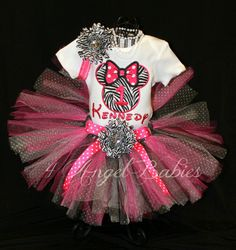 Minnie Mouse Birthday Party Idea ... Birthday Girl Outfit.