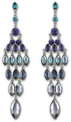 Swarovski fetish pierced earrings