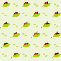 Free digital ladybug scrapbooking paper - ausdruckbares Geschenkpapier - freebie