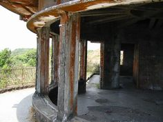 Bokor Hill Station was built in 1925 to be a resort for the French colonists. More than local laborers have died during 9 month long construction work. French Colonial, Royal Residence, Hill Station, Ghost Towns, Amazing Architecture, Building, Abandoned Places, Palace, Mountains