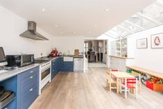 3 bedroom terraced house for sale in Ravensworth Road, Kensal Rise, NW10, NW10 New Kitchen Designs, Kitchen Ideas, Victorian Terrace, Property For Sale, Kitchen Cabinets, Terraced House, Bedroom, Table, Furniture