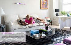 I have always loved the simplicity of this room, styled by Lillie Diallo