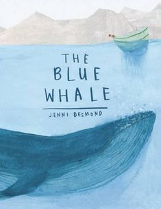 Buy The Blue Whale at Mighty Ape NZ. Age Range: 4 to 8 As a nonfiction picture book, The Blue Whale aims to draw children into the life and world of this enormous whale by situating fact. Book Cover Design, Book Design, Blue Whale Drawing, Best Science Books, Lion Book, Album Jeunesse, Wale, Children's Book Illustration, The Life