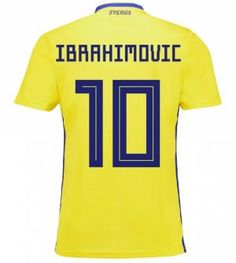 e25fdcce1 2018 World Cup Jersey Sweden Ibrahimovic Home Replica Yellow Shirt 2018  World Cup Jersey Sweden Ibrahimovic Home Replica Yellow Shirt