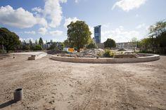 #TkmstBeeld 3: het betonnen pad wat door de playground wordt gelegd is inmiddels bijna af!