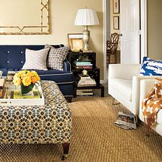 Reinvent Hand-Me-Down Furniture | 10 Apartment Decorating Lessons from Sally Steponkus - Southern Living