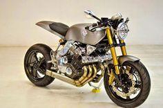 Proyecto Cafe Racer Kawasaki  KZ 1300 Horquilla