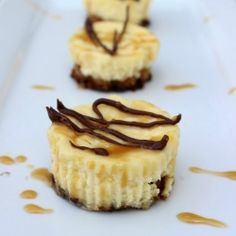 Individual Samoas Cheesecakes by whatscookinglove