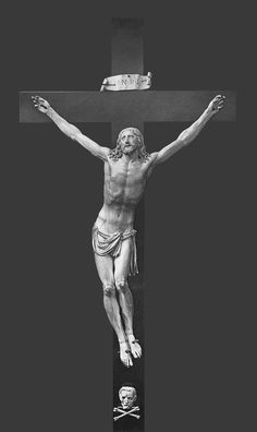 Ivory crucifix by Anonymous, first half of the 17th century, Private collection in Warsaw (current whereabouts unknown)