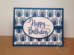 Every Occasion and Stylized Birthday Stamp Pad, Masculine Cards, Stampin Up, Catalog, Birthday, Creative, Birthdays, Dirt Bike Birthday, Birth Day