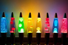 Lava Lamp Resurrects The Groovy , Bringing It Back To The Forefront Of Trendy Home Decor. Lava Lamp One Of The Most lovable Icons From The And Cool Lava Lamps, Disco Licht, Ty Dye, Tableaux Vivants, Glow Party, The Good Old Days, My New Room, Rainbow Colors, Bright Colors