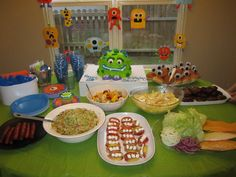 Monster Mash- ADORABLE! Great bday party idea