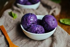 blueberry basil ice cream — the farmer's daughter