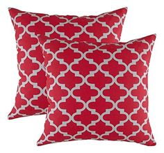 Elegance Home Fashion Cotton Canvas Trellis Accent Decorative Throw Pillowcases (2 Cushion Covers; 16 x 16 Inches / 40 x 40 CM; Red & Grey), http://www.amazon.in/dp/B06W2MV8MX/ref=cm_sw_r_pi_awdl_xs_F953yb1P41HHF