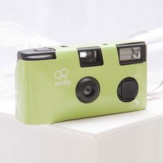 Sage Green Single Use Camera – Solid Color Design - Weddingstar